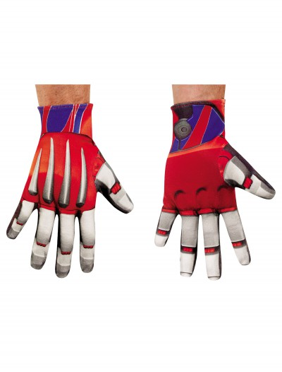 Adult Optimus Prime Gloves buy now