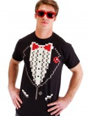Adult Pixel 8 Tuxedo Shirt buy now
