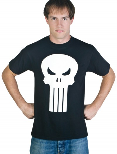 Adult Punisher T-Shirt Costume buy now