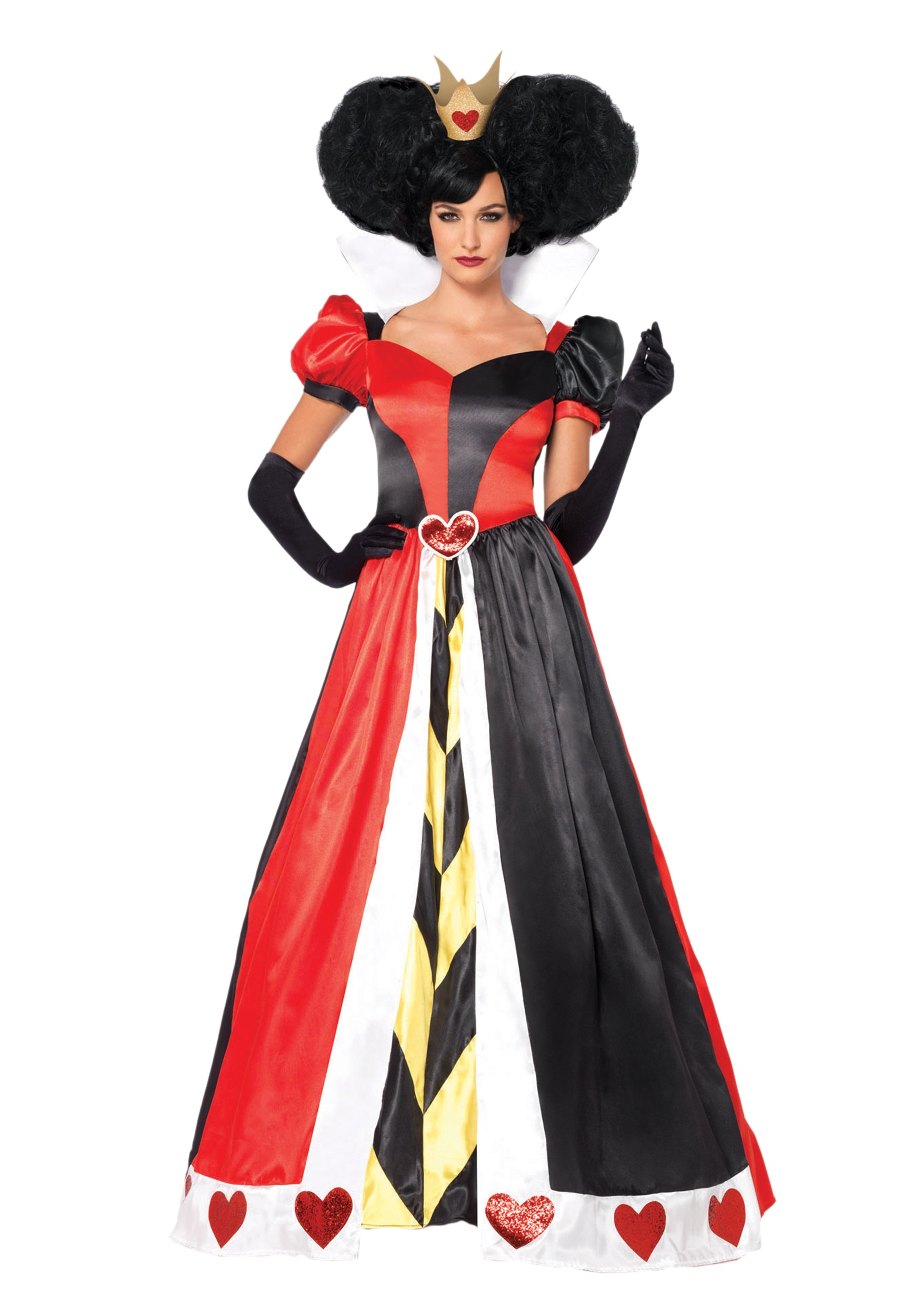 adult queen of hearts costume sc 1 st halloween costumes