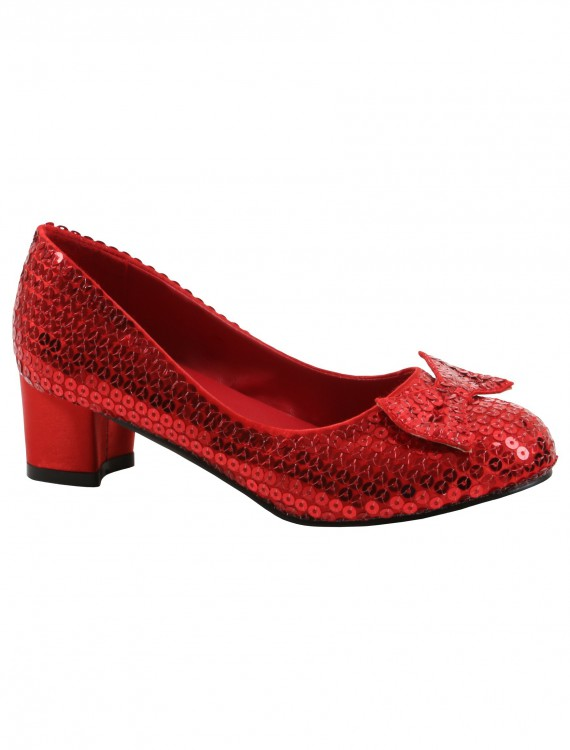 Adult Red Sequin Shoes buy now