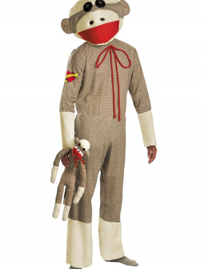Adult Sock Monkey Costume buy now
