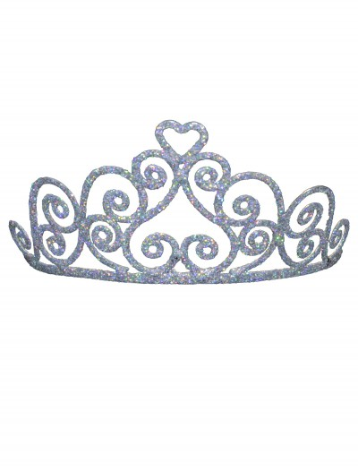Adult Sparkle Heart Tiara buy now