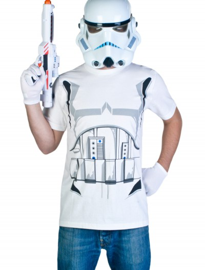 Adult Stormtrooper T-Shirt Costume buy now