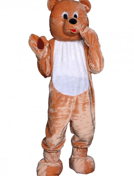 Adult Teddy Bear Mascot Costume buy now