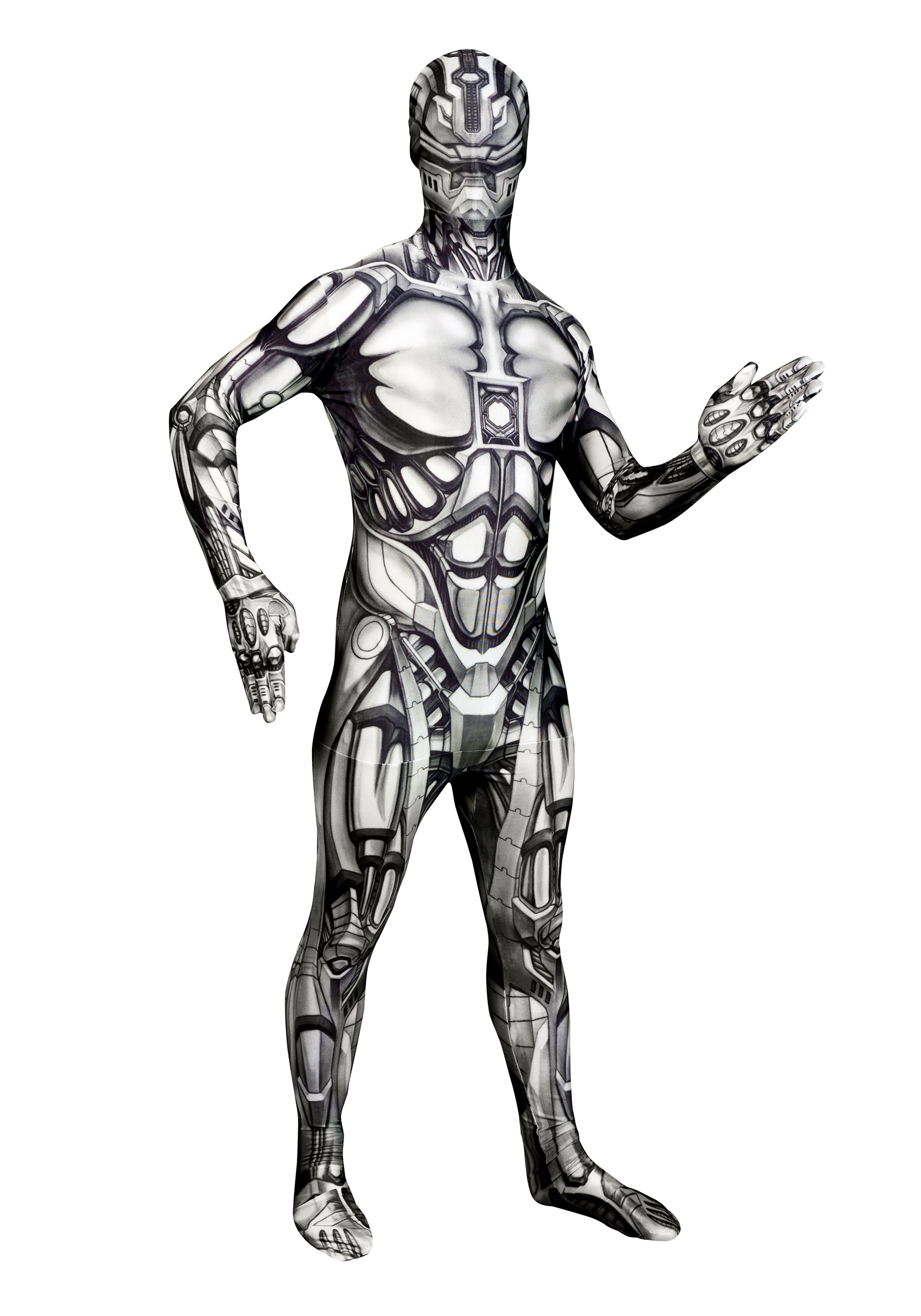 Adult The Android Morphsuit  sc 1 st  Halloween Costumes & Adult The Android Morphsuit - Halloween Costumes