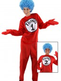 Adult Thing 1 and 2 Costume buy now