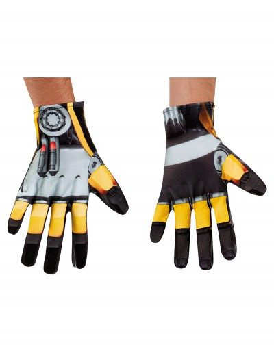 Adult Transformers 4 Bumblebee Gloves buy now