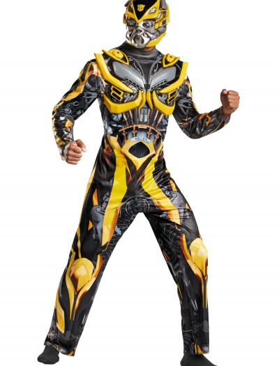Adult Transformers 4 Deluxe Bumblebee Costume buy now