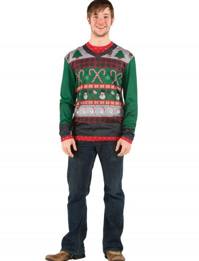 Adult Ugly Sweater with Candy Canes buy now