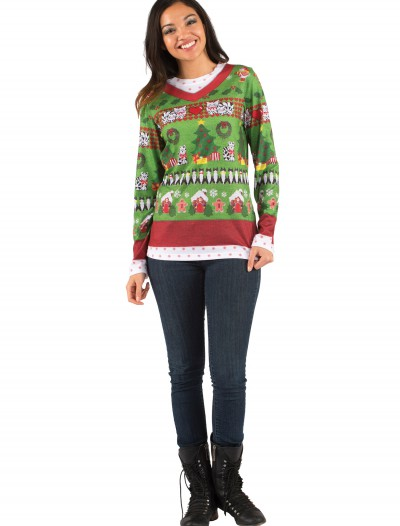 Adult Ugly Sweater with Cats buy now