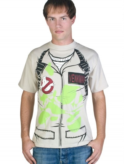 Adult Venkman Ghostbusters T-Shirt Costume buy now