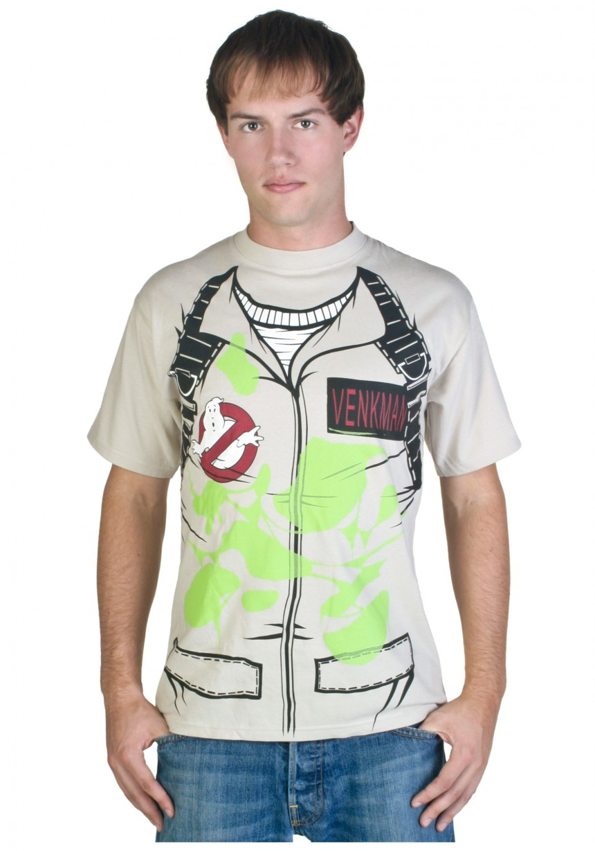 sc 1 st  Halloween Costumes & Adult Venkman Ghostbusters T-Shirt Costume - Halloween Costumes
