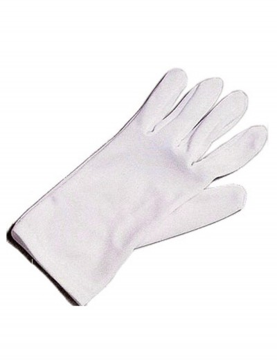 Adult White Costume Gloves buy now