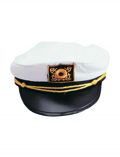 Adult White Yacht Cap buy now