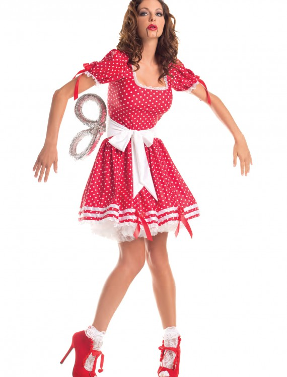 Adult Wind Up Doll Costume buy now