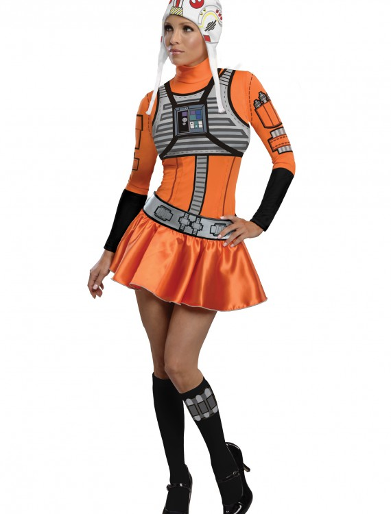 Adult X-Wing Fighter Dress Costume buy now