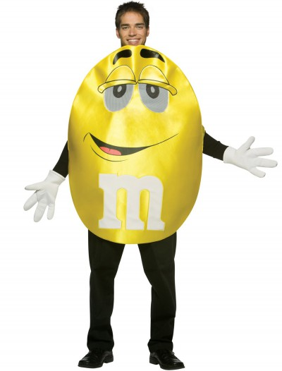 Adult Yellow M&M Costume buy now
