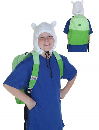Adventure Time Finn Hooded Backpack buy now