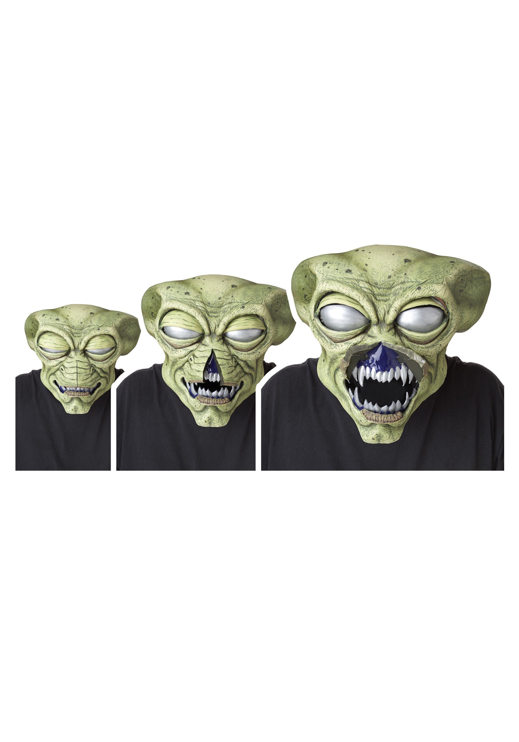 alien visitor ani-motion mask - halloween costumes
