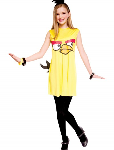 Angry Birds Tween Yellow Bird Costume buy now