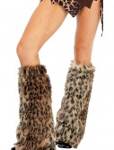 Animal Print Furry Leg Warmers buy now