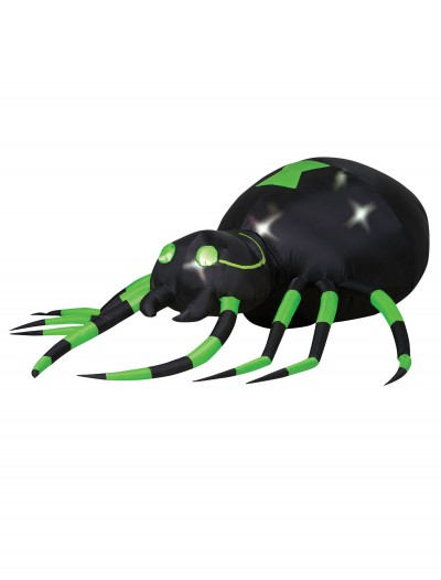 Animated Airblown Green Spider buy now