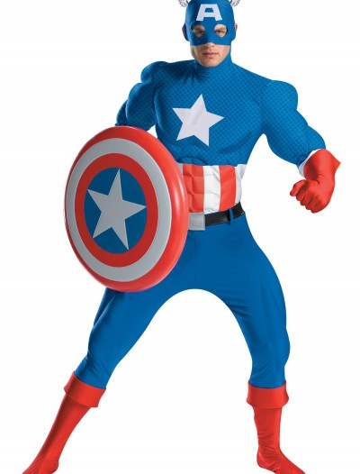 Authentic Captain America Costume buy now
