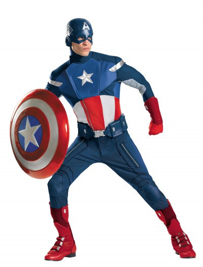 Avengers Replica Captain America Costume buy now