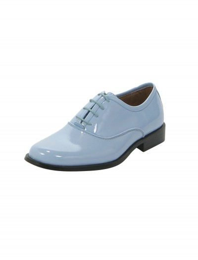 Baby Blue Tuxedo Shoes buy now