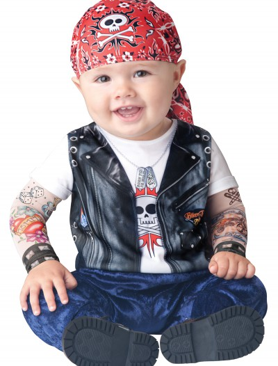 Baby Born to be Wild Biker Costume buy now