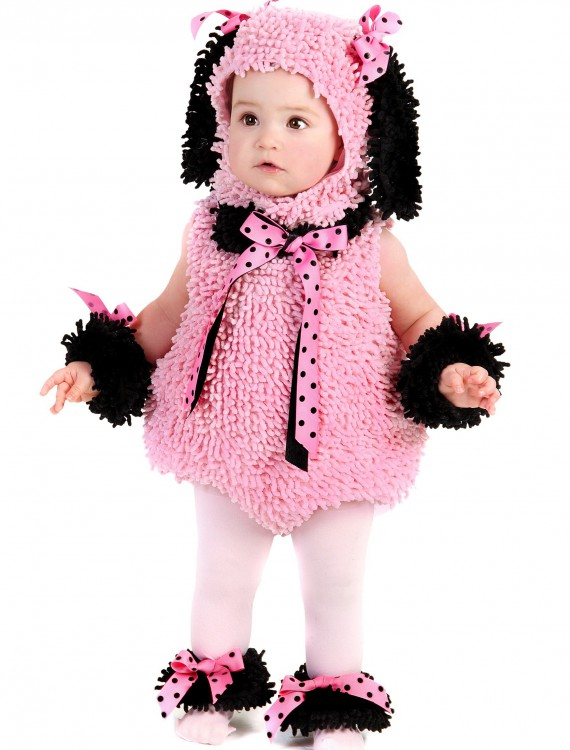 Baby Pink Poodle Costume buy now