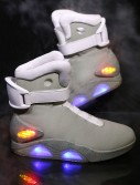 Back to the Future 2 Light Up Shoes buy now
