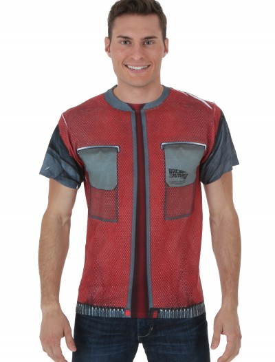 Back to the Future 2 McFly Future Jacket T-Shirt buy now