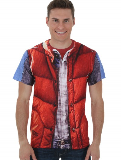 Back to the Future Marty McFly Vest Costume T-Shirt buy now