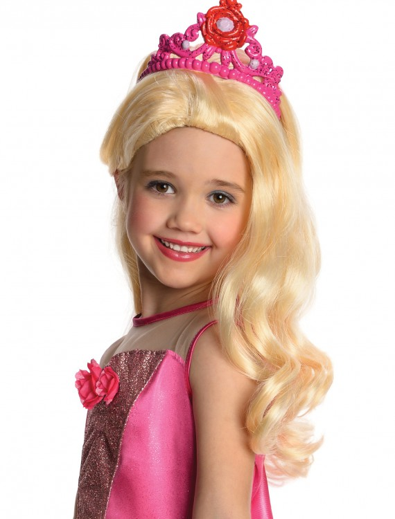 Barbie Wig with Tiara buy now