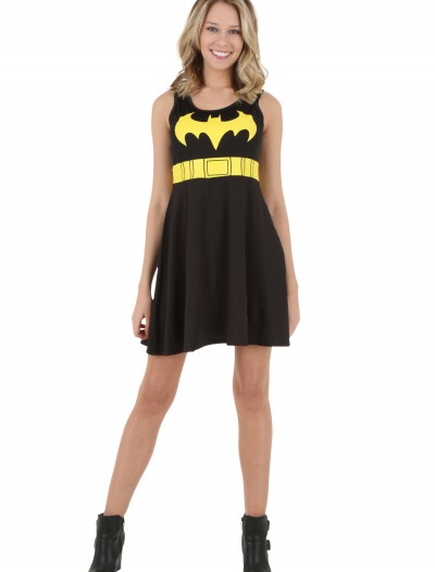 Batman Logo A-Line Black Dress buy now