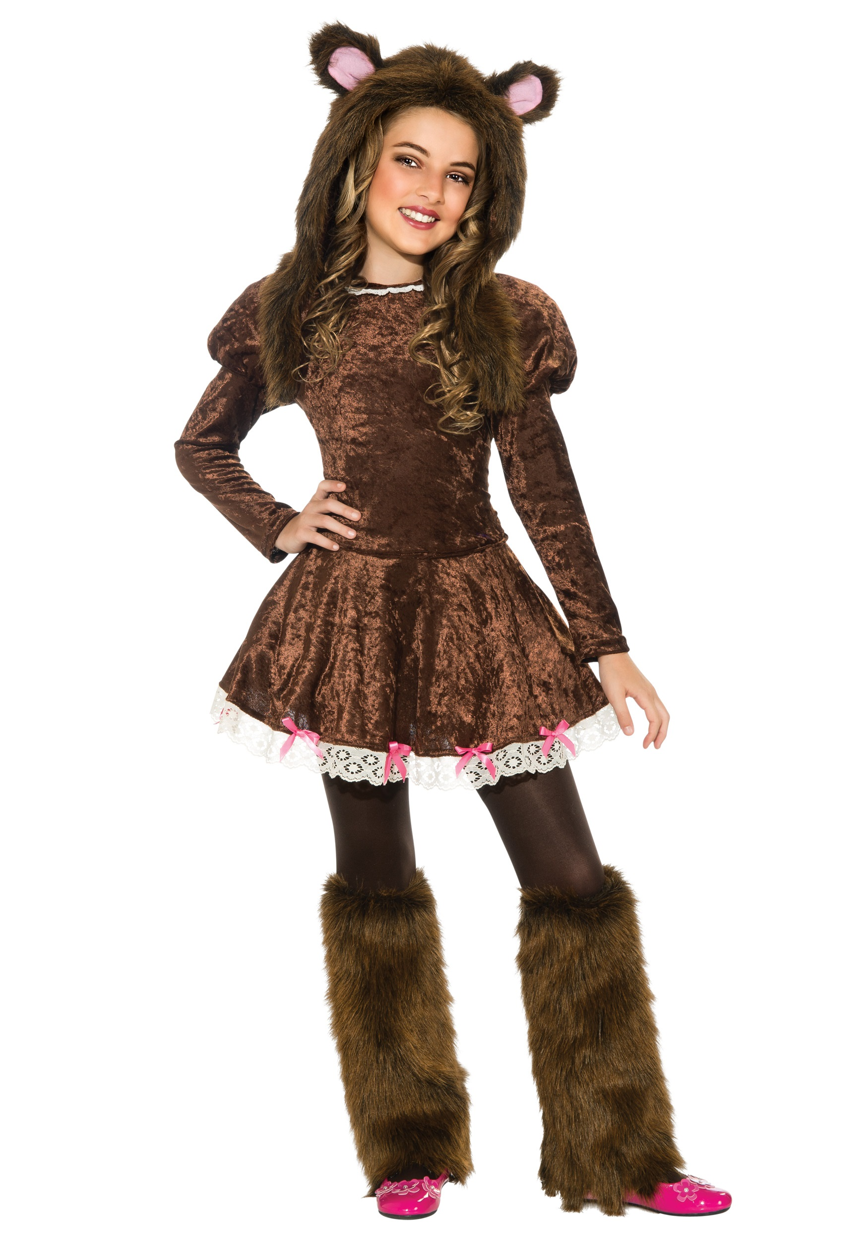 beary adorable girls costume - halloween costumes