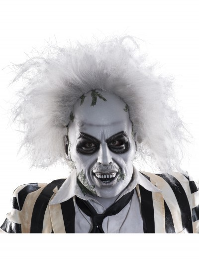 Beetlejuice Full-Head Latex Mask w/ Hair buy now