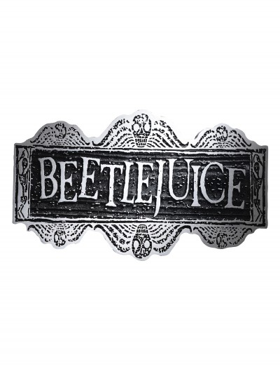 Beetlejuice Sign buy now