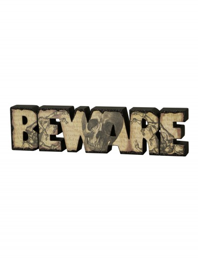 Beware Sign buy now