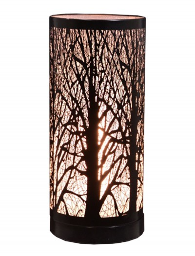 "Black 11.5"" Birch Table Lamp buy now"