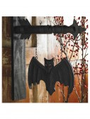 Black Bat on Arrow Hanging Sign buy now