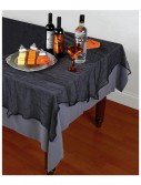 Black Cheesecloth Tablecloth buy now
