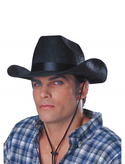 Black Cowboy Rancher Hat buy now