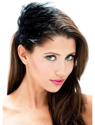Black Feather Hair Clip buy now