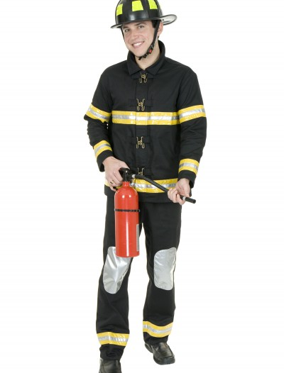 Black Fireman Costume buy now