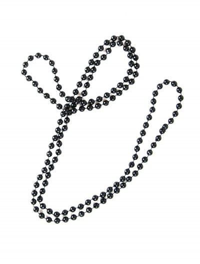 Black Flapper Beads buy now