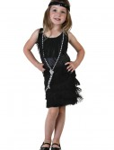 Toddler Black Flapper Dress buy now