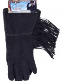 Black Fringe Cowboy Gloves buy now